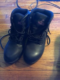 Black work boots Paterson