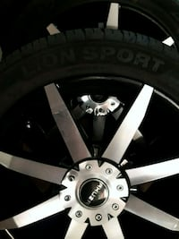 gray 5-spoke car wheel Las Vegas, 89121