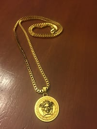 Gold filled Versace Medusa Necklace Chevy Chase View, 20895
