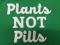 Plants Not Pills decal Oliver, V0H 1T0