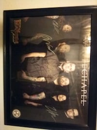 *SIGNED* Whitechapel poster 2015