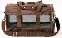 New soft sided pet carrier