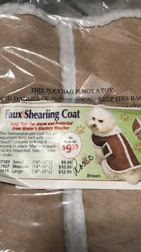 Dog coat brand new Boise, 83709