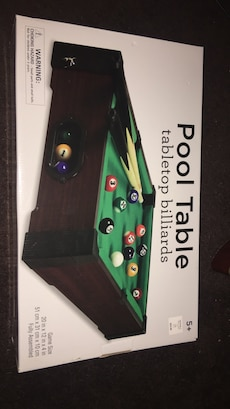Pool Table tabletop billiard box