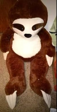Plush Sloth toy