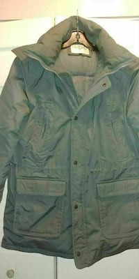 Men's Down Filled Coat Large