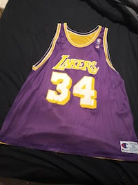 Men's Big and Tall Los Angeles Lakers NBA Jersey Lowellville, 44436
