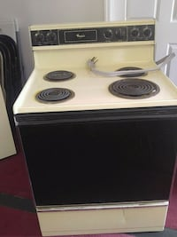 white and black electric coil range oven Augusta, 30909