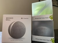 New Cheerble Wicked Ball for Pets. w 2 new Wicked Ball Outer Shells Alexandria, 22304