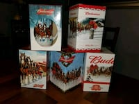 Budweiser Holiday Beer Steins  Utica, 13501