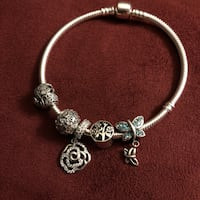 Sterling Silver bracelet and charms  Henrico, 23233