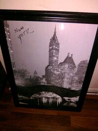 vintige large  NYC framed NYC classic !  Louisville