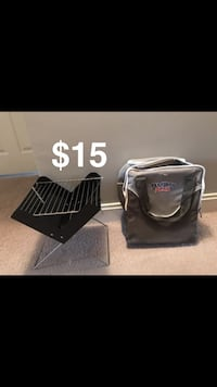 black and gray travel luggage Bakersfield, 93312