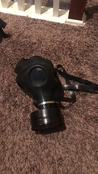 Classic Black Gas Mask (Working Filter) Cypress, 77433