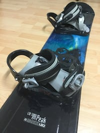 "Snowboard Winter Set ""used"" 58"""