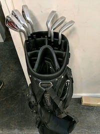 black and gray golf bag Franklin, 37067