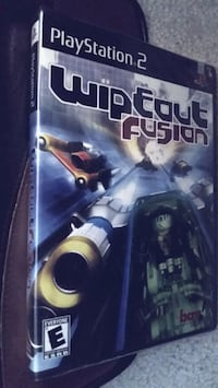 PS2 Wipeout Fusion (new&sealed) Vancouver, 98664