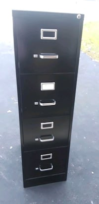 4 drawer file cabinet-black color Woodbridge, 22193