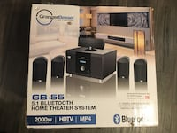 Home theater system Bluetooth
