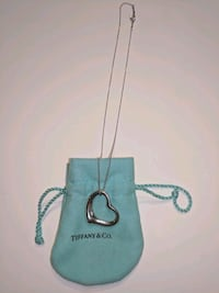 Tiffany large open heart necklace Oakton, 22124