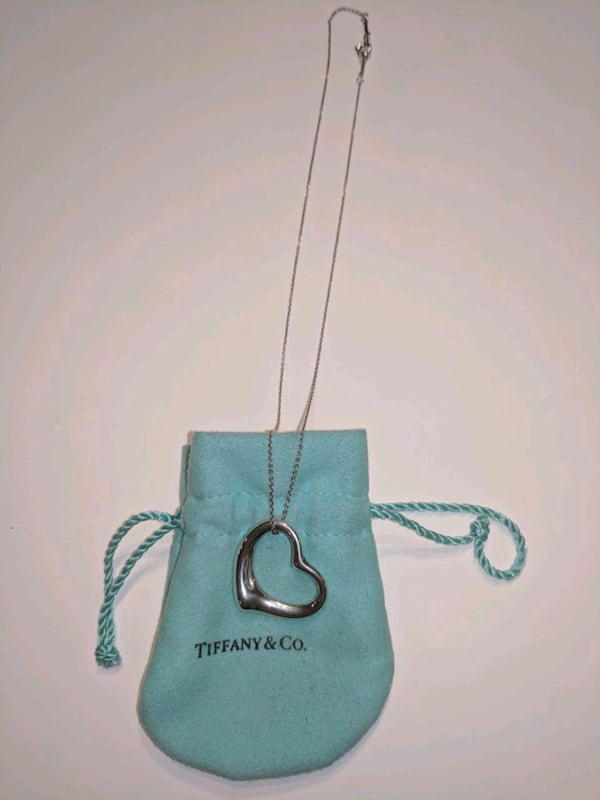 Tiffany large open heart necklace 73cc2a1c-6ef8-4629-83a0-106d00010984