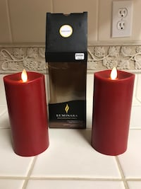 "Luminara 6"" flameless wax candles Elk Grove, 95758"