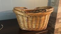 Brown wicker basket  Ocean, 08758