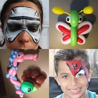 Face painting New Bedford