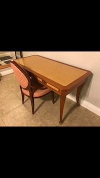 Custom table & chair from Italy Whittier