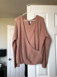 Rose Pink Sweater from H&M Burlington, L7L 7E5