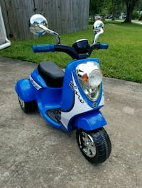 blue and black motor scooter for kids Orlando, 32829