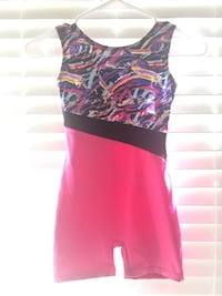 Gymnastic leotard outfit
