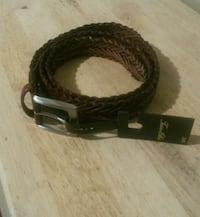 Brown leather belt size 38 brand new with tags  South Houston, 77587