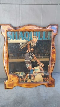 Shaquille O'neal portrait Kissimmee