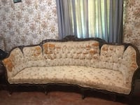 Antique Victorian style mahogany sofa New Orleans
