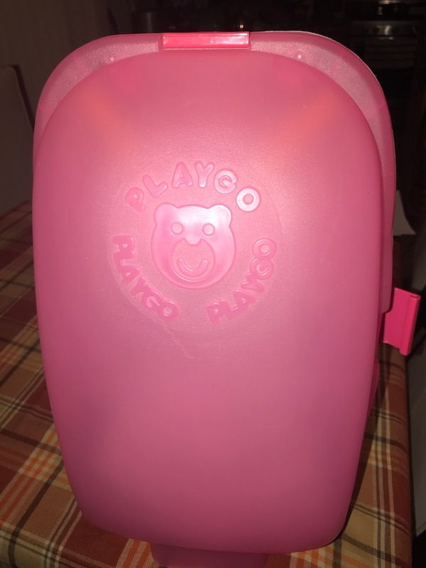 Small pink luggage for kids