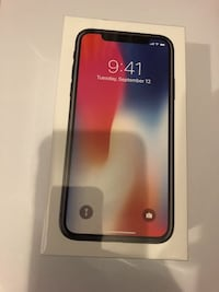 iphone x space gray , 256GB , unlocked carrier  Bowie, 20721
