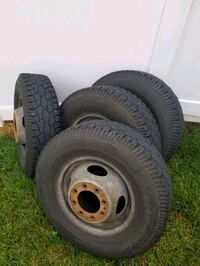 16inches tires and rims fit on ford f350 District Heights, 20747