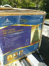 Christmas tree in the box 7 foot. 300 other  items 530 mi