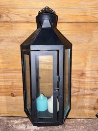 Extra Large Lantern with 2 PartyLite Votives