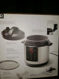 RICARDO Multifunction electric pressure cooker  Montreal, H8R 1G5