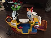 Fisher Price Little People Pirate Ship Guelph, N1L 1T3
