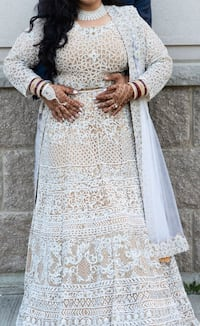 Wedding lengha bridal dress gown