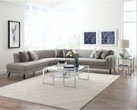 Pearshall Grey Sectional ** FREE DELIVERY ** FINANCING Las Vegas
