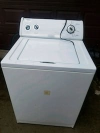 white top-load clothes washer Durham, 27707