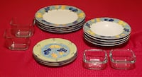 Decorative Plates and Thick Glass Bowls Chesapeake