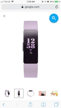 Fitbit Inspire HR- Lilac