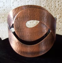 Hand Crafted Copper Cuff Bracelet Fraziers Bottom