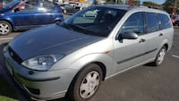 silver Ford Focus Stationvagn
