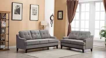 Gray Sofa and Loveseat ***Brand New***